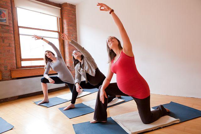 Bodywise Manchester joga w ciąży