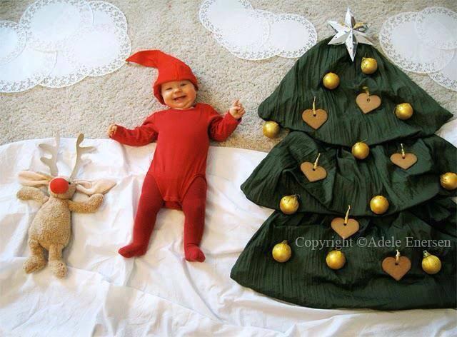 Święta Bożego Narodzenia Zdjęcie Maluszka