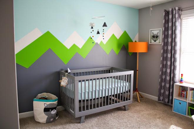 StudioBarw pokój dziecięcy dla chłopca