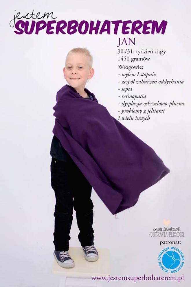 Fundacja Wcześniak - Jestem Super Bohaterem