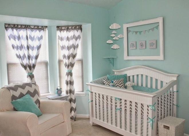 Pokój dla niemowlaka - dla dziewczynki