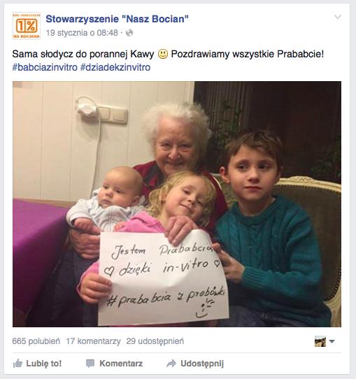 """Źródło: Profil Stowarzyszenie """"Nasz bocian"""""""