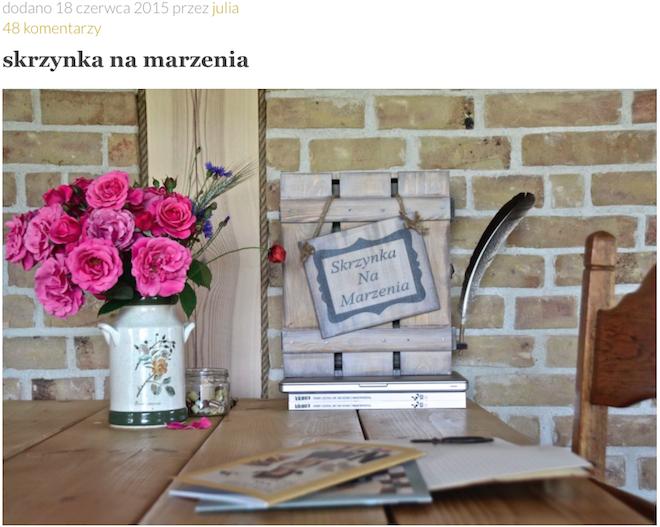 Zdjęcie z bloga Szafa Tosi