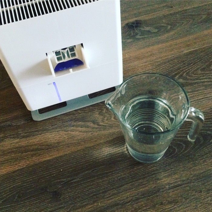 Nawilżacz powietrza Oskar - Instagram polozna_kasia